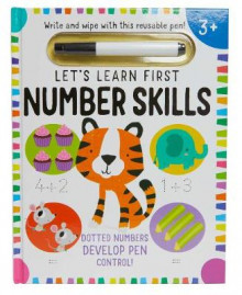 Let's Learn: First Number Skills (Write and Wipe) av Insight Editions (Blandet mediaprodukt)