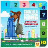 Omslag - Godzilla vs. Kong: Sometimes Friends Fight