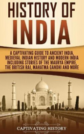 History of India av Captivating History (Innbundet)