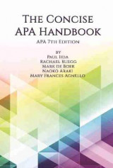 Omslag - The Concise APA Handbook