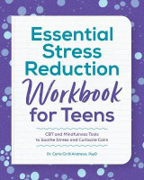 Omslag - Essential Stress Reduction Workbook for Teens