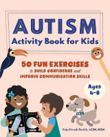 Omslag - Autism Activity Book for Kids