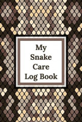 Omslag - My Snake Care Log Book