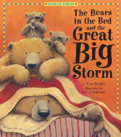 The Bears in the Bed and the Great Big Storm av Paul Bright (Innbundet)