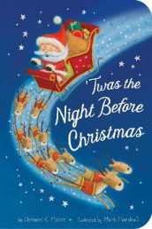 Twas the Night Before Christmas av Clement C Moore (Kartonert)