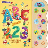 Omslag - ABC and 123 Learning Songs