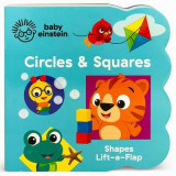 Omslag - Baby Einstein Circles and Squares
