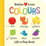 Omslag - Babies Love: Colours