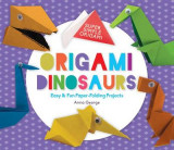Omslag - Origami Dinosaurs: Easy & Fun Paper-Folding Projects