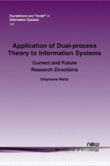 Omslag - Application of Dual-Process Theory to Information Systems