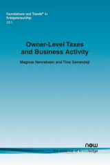 Omslag - Owner-Level Taxes and Business Activity