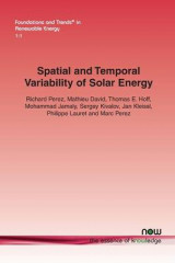 Omslag - Spatial and Temporal Variability of Solar Energy