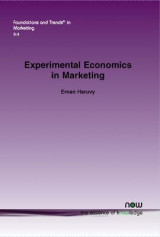 Omslag - Experimental Economics in Marketing