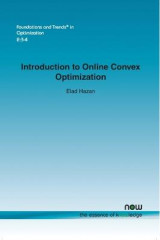 Omslag - Introduction to Online Convex Optimization