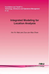 Omslag - Integrated Modeling for Location Analysis