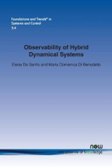 Omslag - Observability of Hybrid Dynamical Systems
