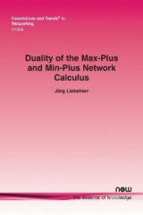 Omslag - Duality of the Max-Plus and Min-Plus Network Calculus