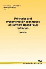 Omslag - Principles and Implementation Techniques of Software-Based Fault Isolation