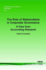 Omslag - The Role of Stakeholders in Corporate Governance