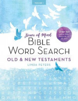 Omslag - Peace of Mind Bible Word Search: Old & New Testaments