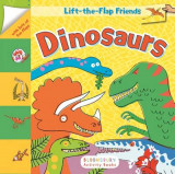 Omslag - Lift-The-Flap Friends: Dinosaurs