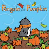 Omslag - Penguin and Pumpkin