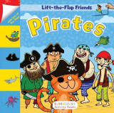 Omslag - Lift-The-Flap Friends: Pirates