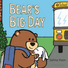 Bear's Big Day av Salina Yoon (Pappbok)