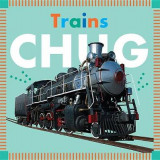Omslag - Trains Chug