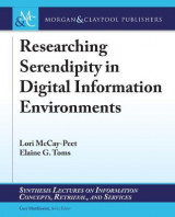 Omslag - Researching Serendipity in Digital Information Environments