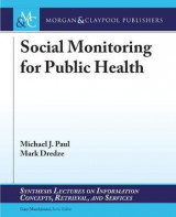 Omslag - Social Monitoring for Public Health
