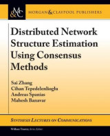 Omslag - Distributed Network Structure Estimation Using Consensus Methods