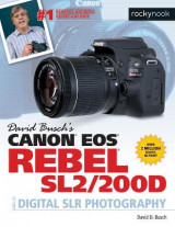 Omslag - David Busch's Canon EOS Rebel Sl2/200d Guide to Digital Slr Photography