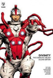 Divinity: The Complete Trilogy Deluxe Edition av Joe Harris, Matt Kindt, Jeff Lemire, Eliot Rahal og Scott Bryan Wilson (Innbundet)