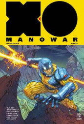 X-O Manowar by Matt Kindt Deluxe Edition Book 1 av Matt Kindt (Innbundet)