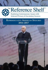 Omslag - Reference Shelf: Representative American Speeches, 2016-2017