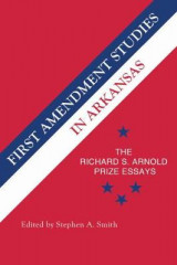 Omslag - First Amendment Studies in Arkansas