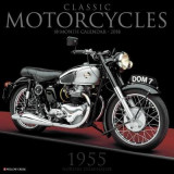 Omslag - Classic Motorcycles 2018 Wall Calendar