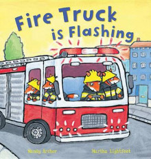 Fire Truck Is Flashing av Mandy Archer og Peter Bently (Heftet)