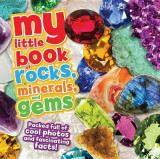 Omslag - My Little Book of Rocks, Minerals and Gems
