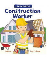 Omslag - Busy People: Construction Worker