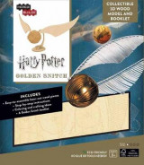 Omslag - Incredibuilds: Harry Potter: Golden Snitch 3D Wood Model and Booklet