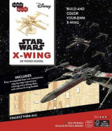 Omslag - Incredibuilds: Star Wars: X-Wing 3D Wood Model