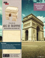 Omslag - Incredibuilds: Paris: ARC de Triomphe Deluxe Model and Book Set
