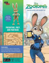 Omslag - Incredibuilds: Disney: Zootopia Deluxe Book and Model Set