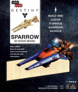Omslag - Incredibuilds: Destiny: Sparrow 3D Wood Model