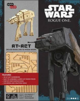 Omslag - Incredibuilds: Star Wars: Rogue One: At-ACT Deluxe Book and Model Set