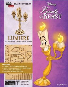 Incredibuilds: Disney's Beauty and the Beast: Lumiere Deluxe Book and Model Set av Ramin Zahed (Innbundet)