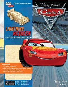 Incredibuilds: Disney Pixar Cars 3: Lightning McQueen Deluxe Book and Model Set av Barbara Bazaldua (Innbundet)