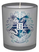 Omslag - Harry Potter. Hogwarts large glass candle